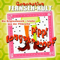 Pippi Langstrumpf Soundtrack CD mit allen Originalsongs aus den Pippi Langstrumpf Filmen
