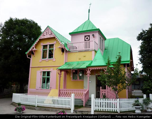 Gotland hier steht Villa Kunterbunt aus den en