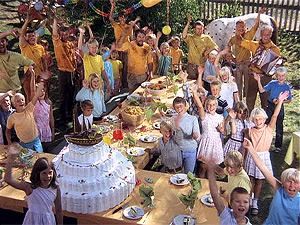 Gartenparty Bei Pippi Langstrumpf In Der Villa Kunterbunt