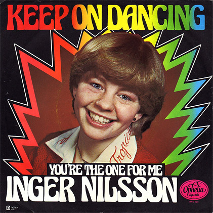 Inger Nilsson und ihre Single Keep on Dancing