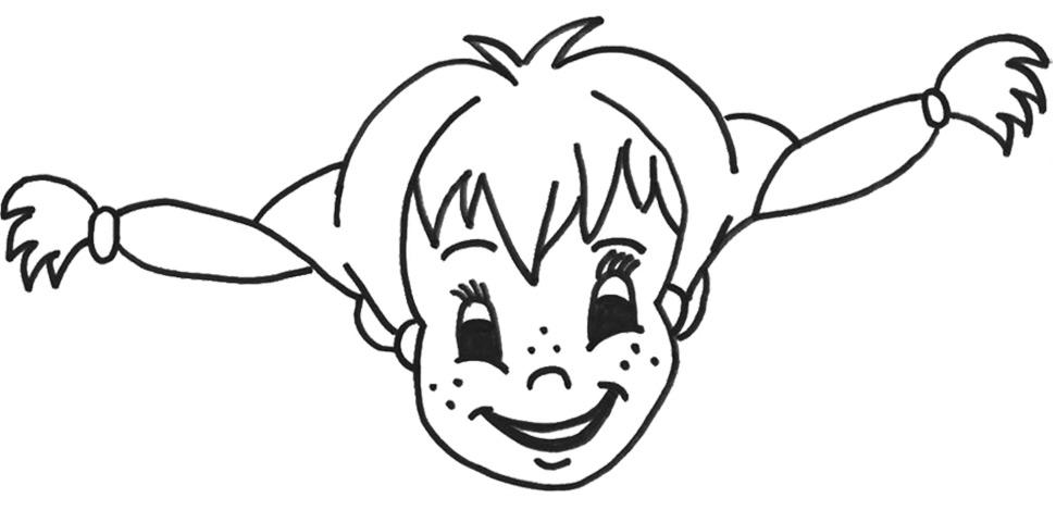 Das Pippi Langstrumpf Malbuch Malbuchbilder Zum Ausmalen