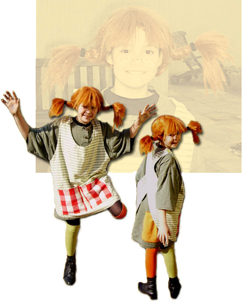 Charly Lou als Pippi Langstrumpf